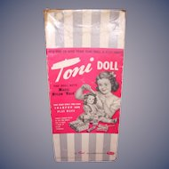 1950s Ideal Toni Original Doll Box!