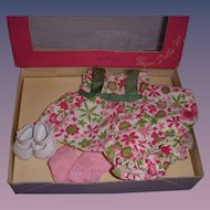"1950s Vogue Ginny ""Kinder Crowd"" Boxed Outfit!"