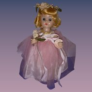 Vintage 1950s Vogue Ginny BKW Doll All Original!