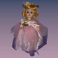 Vintage 1950s Vogue Ginny BKW Doll All Original!