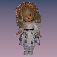 Vintage 1950s Strung Muffie Doll Tagged Outfit!