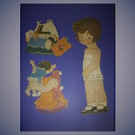 """1926 Vintage Paper Doll Sheet """"Peggy Pryde's Sister Patty"""""""