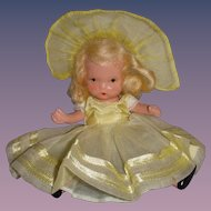 """Nancy Ann Storybook Doll Bisque """"Daffy Down Dilly"""""""