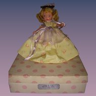 "Nancy Ann Storybook Doll Bisque ""Little Bo Peep"" Boxed"
