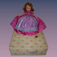 """Nancy Ann Storybook Doll Bisque """"Nellie Bird"""" Boxed"""