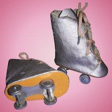 Vintage Doll Roller Skates