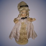 "Vintage Madame Alexander Tiny Betty ""Colonial"" Doll All Original"