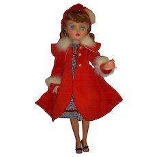 "Vintage 1950s 19"" Eegee Fashion Doll All Original - Red Tag Sale Item"