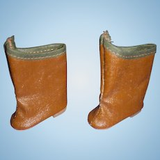 Vintage 1950s Mary Hoyer Doll Boots