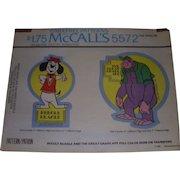 Vintage Holoubek Studio Comic Transfers for Beegle Beagle & The Great Grape Ape