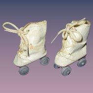 Vintage 1950s Doll Roller Skates