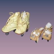 Vintage Lot of Doll Roller Skates