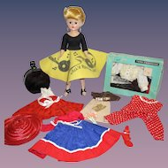 1950s Vogue Jill Doll with Wardrobe