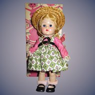 """Vogue 1950s Ginny """"Tiny Miss"""" Doll in Original Box"""