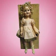 "Vintage Madame Alexander Composition ""Sonja Henie"" Doll All Original with Original Box"