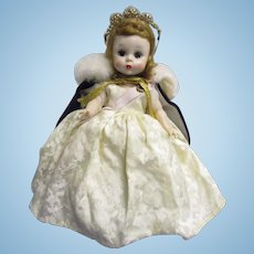 """Rare 1954 Madame Alexander """"Queen Elizabeth"""" Doll from """"Me and My Shadow Series"""