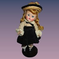 Vogue 1952 Strung Ginny Doll All Original