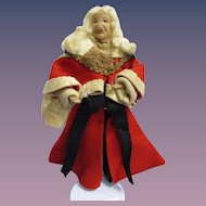 """Vintage Liberty of London """"Lord Chief Justice"""" Doll All Original"""