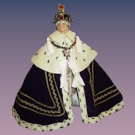 "Vintage Liberty of London ""King George"" Doll All Original"