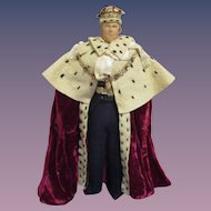 "Vintage Liberty of London ""Duke of Edenburgh"" Doll All Original"