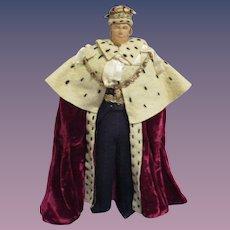 "Vintage Liberty of London ""Duke of Edenburgh"" Doll All Original"