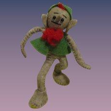 "Vintage German BAPS Rumpelstiltskin Doll of the fairy tale ""Rumpelstiltskin"""