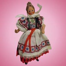 Vintage German BAPS Yugoslavian Lady Doll