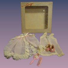 1950s Ginger Boxed Robe Set