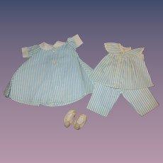 1950s Madame Alexander Tagged Alexander-kin Robe Set