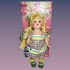 "Vogue 1950s Ginny Strung ""Tina"" Doll in Original Box"
