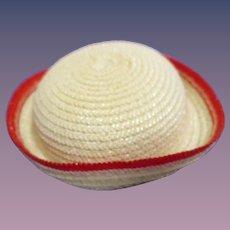 Vintage 1950s Alexander-kin Straw Hat