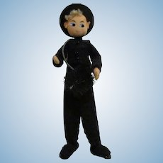 Vintage German BAPS Chimney Sweep Doll