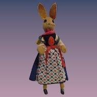 Vintage German BAPS Bunny Mother of Peter Rabbit Set