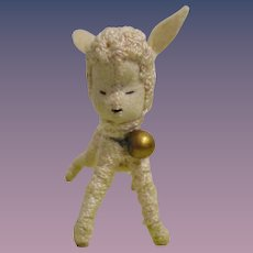 "Vintage German BAPS  Early Lamb from ""Mary had a Little Lamb"" Set"