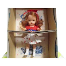"""Nancy Ann Storybook Doll """"Little Sister Goes To Sunday School"""" Little Sister Series Boxed"""