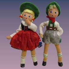 Vintage German BAPS Bavarian Children