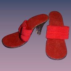 Vintage 1950s Doll High Heels