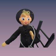 Vintage German BAPS Chimney Sweep Doll
