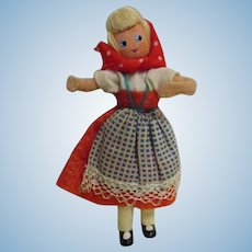 Vintage German BAPS Ethnic Girl Doll