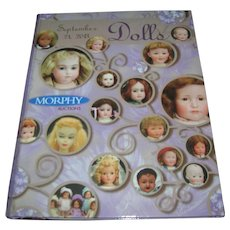 Morphy's Doll Auction Catalogue - Red Tag Sale Item