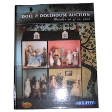 Morphy's Doll & Dollhouse Auction Catalogue - Red Tag Sale Item