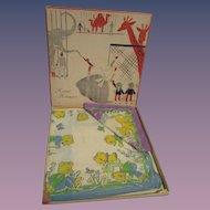 Vintage MIB Child's Hankie Box Set