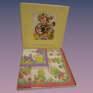 Vintage MIB Child's Hankies Box Set