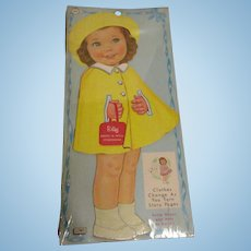 "Lowe ""Betsy Dress-A-Doll Storybook"" Paper Doll Uncut 1964 MIP"
