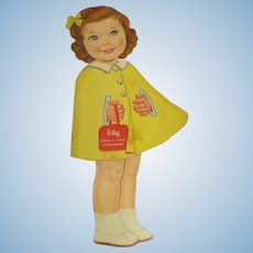"Lowe ""Betsy Dress-A-Doll Storybook"" Paper Doll 1964"