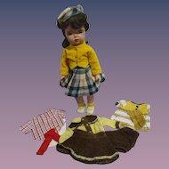 1955 Mary Jane Doll with Rare Tagged Wardrobe