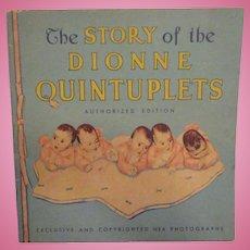 "Vintage Original Dionne Quintuplets Book ""The Story of the Dionne Quintuplets"" 1935"
