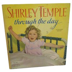 "Vintage Original Shirley Temple Book ""Shirley Temple Through the Day 1936"