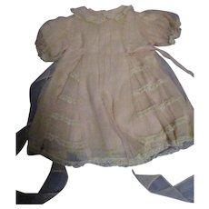 1950s Madame Alexander Vintage Rosebud Dress and Slip Set