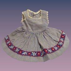 1950s Ideal Toni Original Vintage Dress